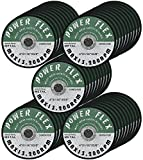 50 PACK - CUT OFF WHEELS 4'' x 1/16'' x 5/8'' For Cutting all Ferrous Metals and Stainless Steel.