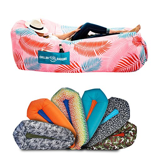 Chillbo SHWAGGINS Blow-Up Couch & Inflatable Couch Inflatable Couch, Inflatable Lounger, Air Chair - Best Inflatable Hammock Traveling Accessories & Camping Chairs