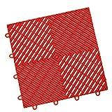 IncStoresVentedGrid-Loc Tiles 12inx12inx1/2in Interlocking Garage Flooring tiles 24pack