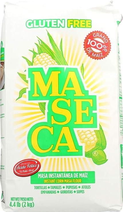 Amazon.com: (NOT A CASE) harina de maíz instantánea, 4,4 lb ...