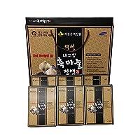 [Korea Uiseong Black Garlic] Garlic Juice Premium, Garlic Drink, Black Garlic Extract, 60ml X 30packs of 100% Pure Korean, the Polyphenol Component of Black Garlic Reduces the Risk of Various Diseases