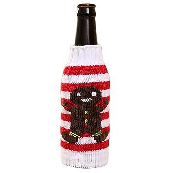 Rainbabe Weihnachten Puppen Wein Flasche Schutzhülle Wein Taschen Für  Abendessen Tisch Dekoration