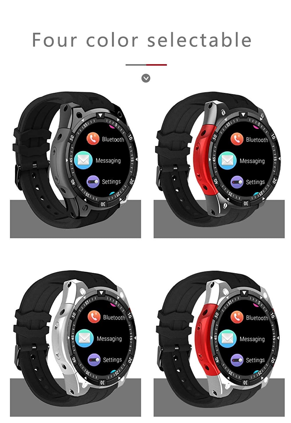 Relojes Inteligentes X100 Bluetooth Smart Watch ROM 4Gb 3G GPS ...