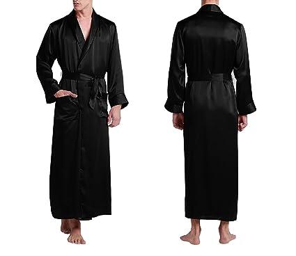 12fc3afa9960c Vêtements de Nuit Kimono Homme Pure 100 Silk 22 Vêtements de Luxe pour  Hommes Naturels Naturels