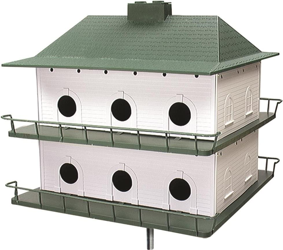 Amazon Com Heath Outdoor Products Ph12 Plastic 12 Room Purple Martin House Purple Martin Bird Houses Garden Outdoor