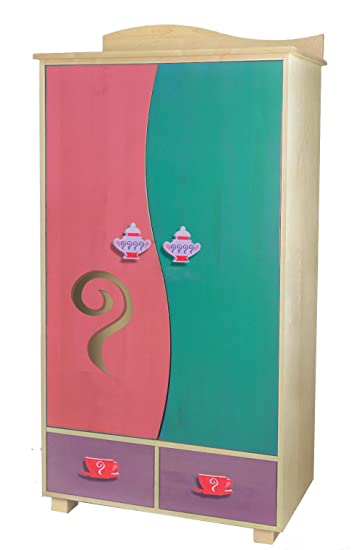 Amazon.com : Room Magic Media Cabinet, Girl Teaset : Nursery ...