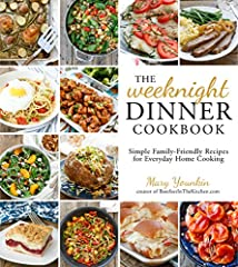 Cooking from Scratch as Simply as Possible              The Weeknight Dinner Cookbook is the perfect way to get dinner on the table quickly and easily with recipes for tasty main dishes and flavorful side dishes, plus a sprink...