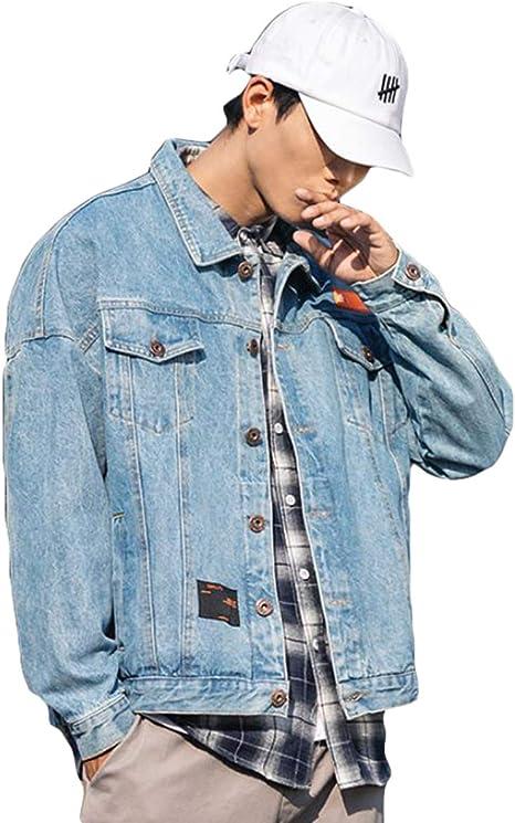 QYYデニムジャケット メンズ ジージャン 大きいサイズ アウター デニム カジュアル ゆったり Gジャン 長袖 ファッション gジャン プリント おしゃれ コート
