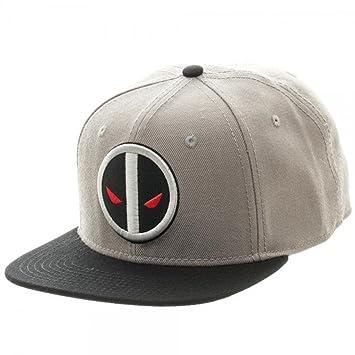 Nuevo Marvel Comics Deadpool X-Force gorra sombrero ajustable adulto Sz Flat Bill