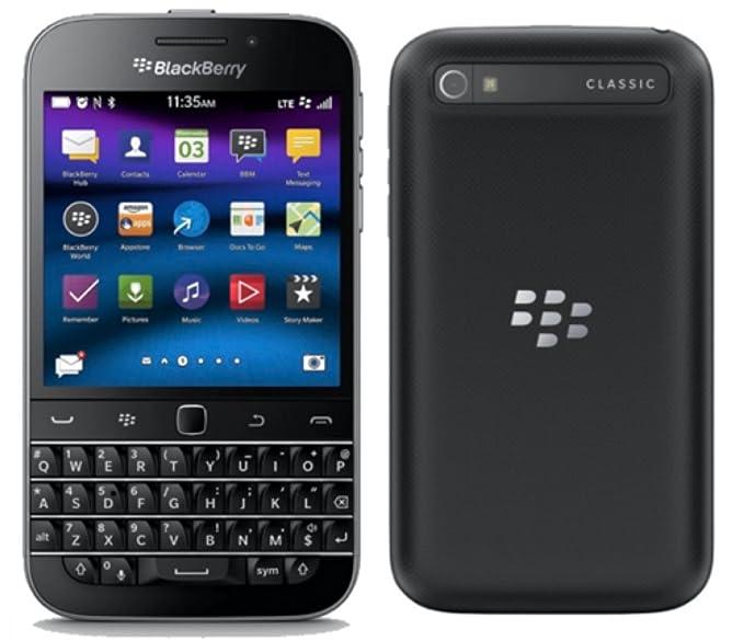 Amazon com: Blackberry Classic, 16GB (Wi-Fi + 4G LTE) (Black) (T