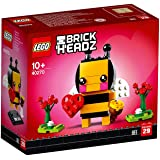 LEGO 乐高 拼插类玩具 brickheadz 情人节小蜜蜂方头仔 40270 10+ 积木玩具