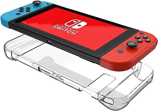 Nintendo Switch Case Three Segment Design Mothca Transparent ...
