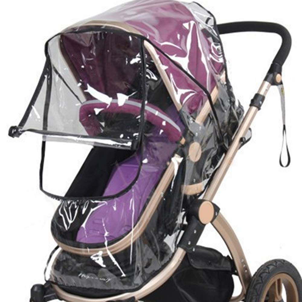 Pinzhi Universal Baby Stroller Waterproof Rain Cover Wind Dust Shield Carrier Raincover
