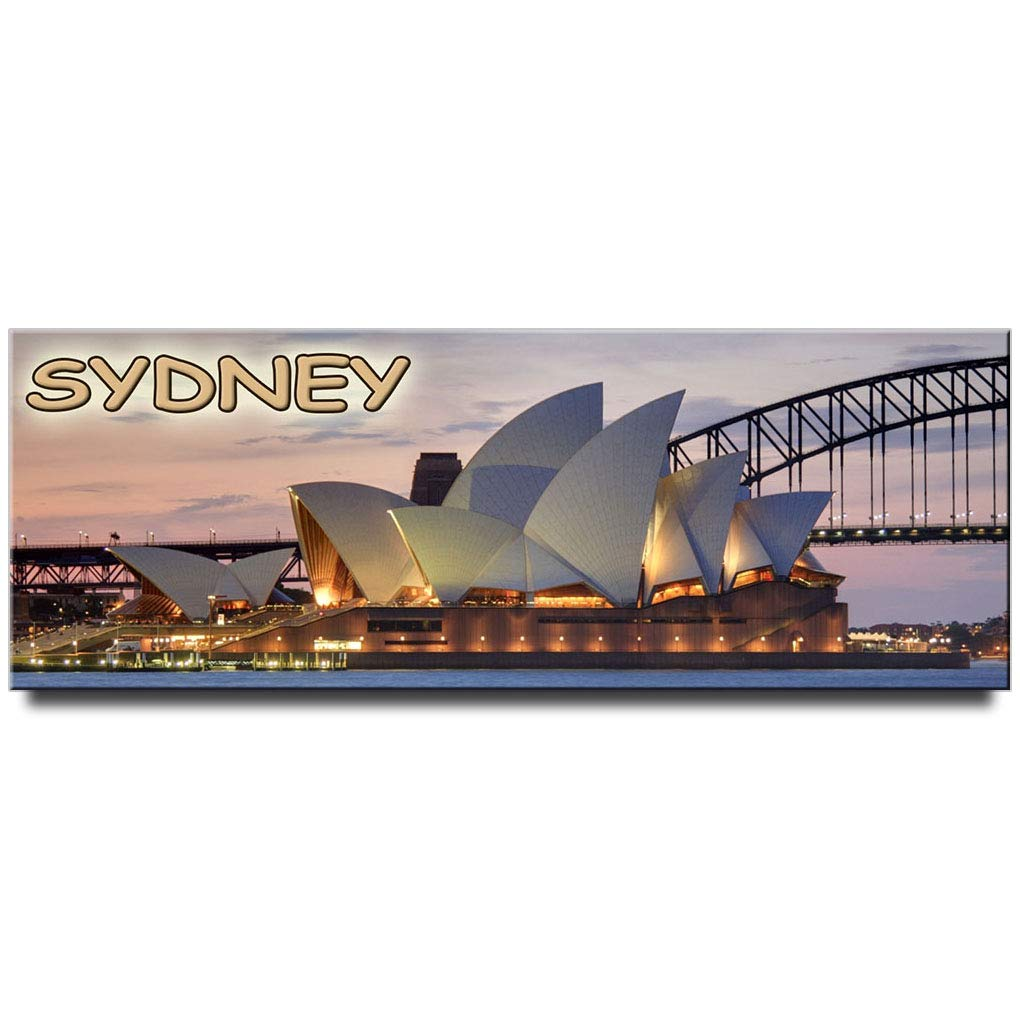 Sydney Opera House panoramic Fridge Magnet Australia Travel Souvenir