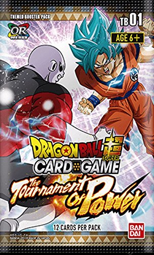 Trading Dragon Dragon Z Ball Cards (Dragon Ball Super TCG: The Tournament of Power Themed Booster Box - 24 packs)