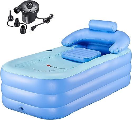 PENSON CO. Inflatable Bath Tub PVC Portable Bathtub