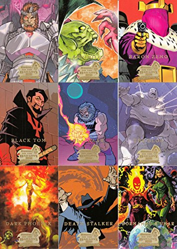MARVEL MASTERPIECES SERIES 3 2008 UPPER DECK COMPLETE BASE CARD SET OF 90 (Masterpieces Upper Deck)