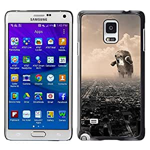 All Phone Most Case / Oferta Especial Duro Teléfono Inteligente PC Cáscara Funda Cubierta de proteccion Caso / Hard Case Samsung Galaxy Note 4 // Funny Giant Domoku