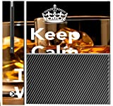 > > Decal Sticker < < Keep Calm Now it's Time For Whisky Quote Design Print Image Xbox One Console Vinyl Decal Sticker Skin by Trendy Accessories by Trendy Accessories