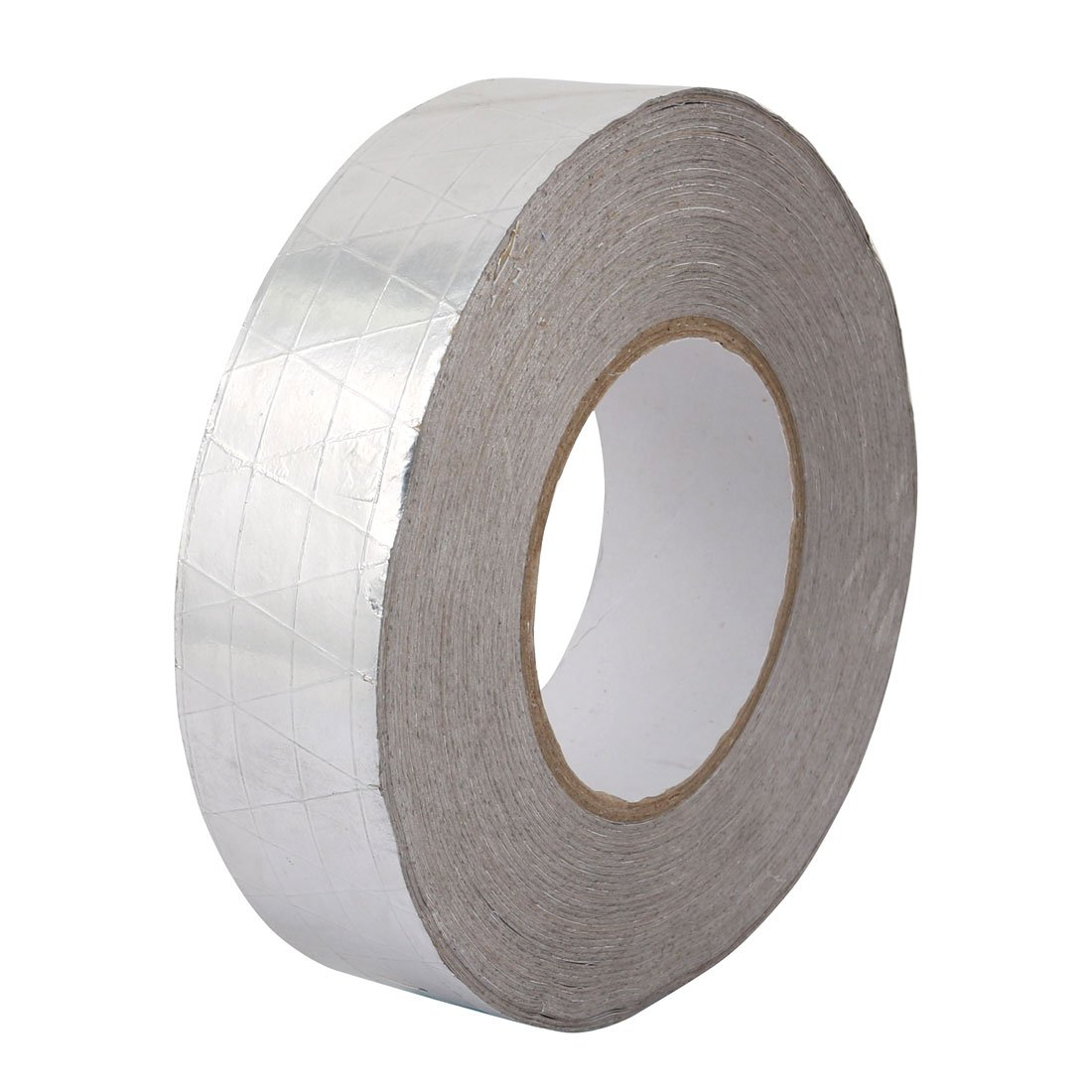 uxcell Aluminum Foil-Scrim-Kraft Insulation Jacketing Tape 50 Meter Length x 40mm Width