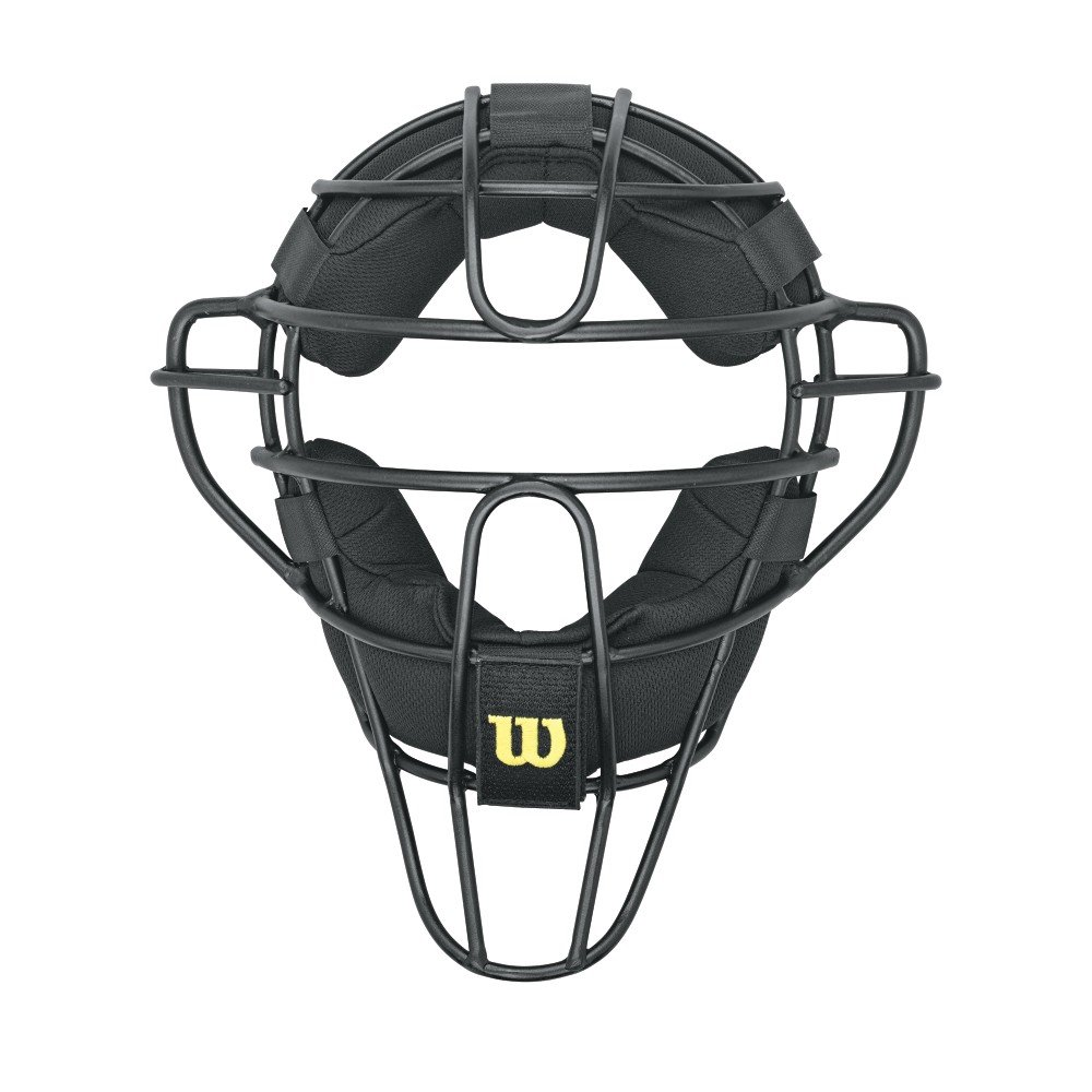 Wilson Dyna-Lite Aluminum Umpire Mask with Memory Foam Pads by Wilson