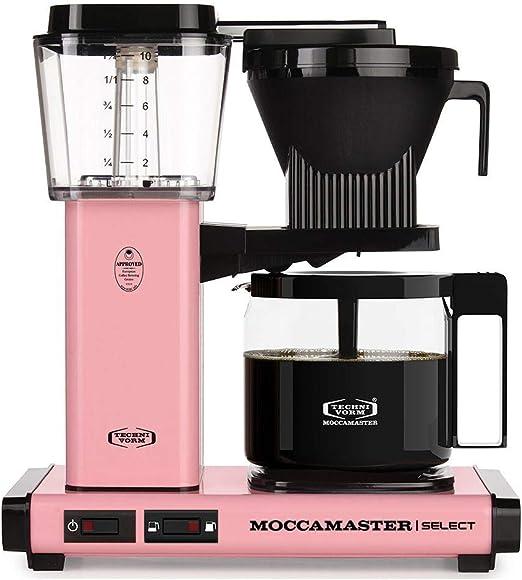 Moccamaster - Filtro para cafetera rosa: Amazon.es: Hogar