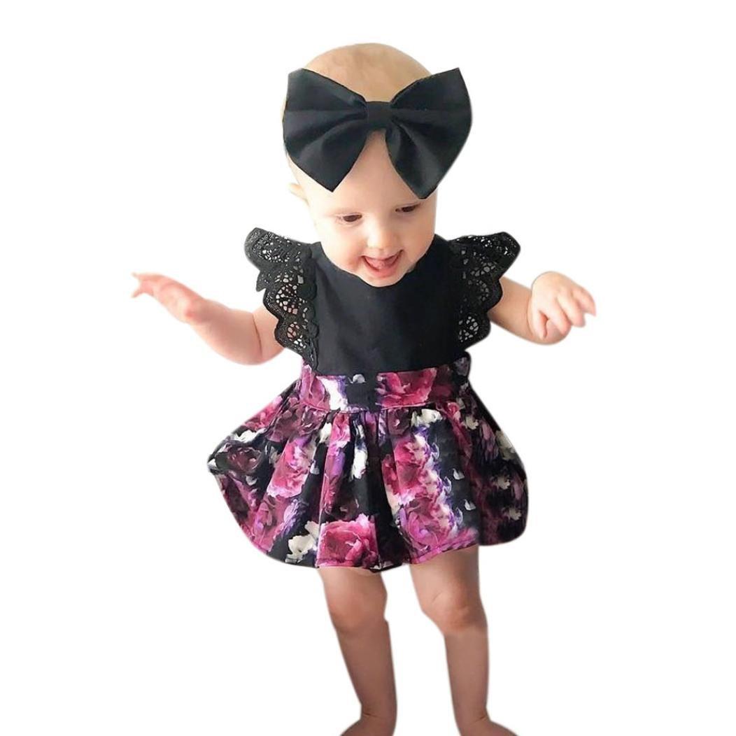 Vovotrade SWIMWEAR ガールズ B0716ZGLLW 6 Months|ベビー(Baby) ベビー(Baby) 6 Months