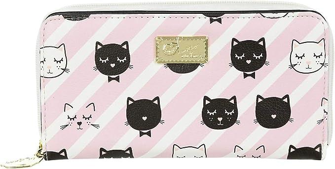 Amazon.com: LUV Betsey Johnson Kitty - Cartera para gato ...
