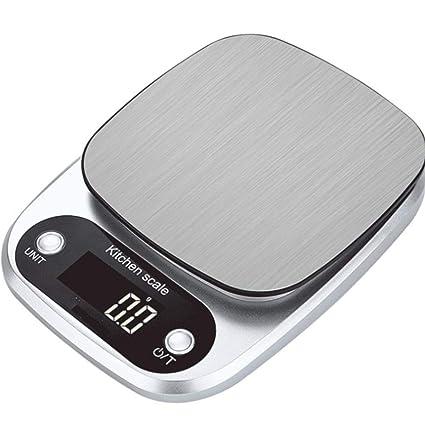 Bo Yi Bascula Cocina bascula Digital Acero Inoxidable 304 Balanza de Cocina Balanza Electronica de Precision