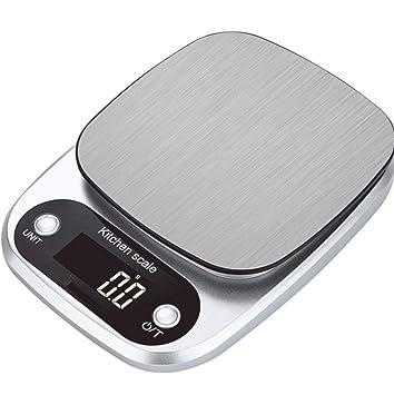 Bo Yi Bascula Cocina bascula Digital Acero Inoxidable 304 Balanza de ...