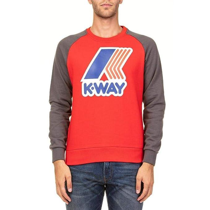 LE VRAI Floyd Boys RED Sweatshirt K-Way KWAY/_K009MY0B/_925
