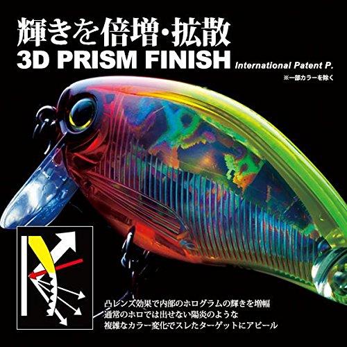 Yo-Zuri F1138 HCR 3DS Crank SSR Floating Diver Lure 2-Inch Holographic Clown