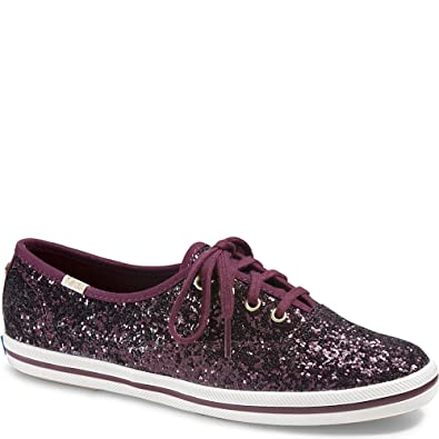 a3ff9763b441 Image Unavailable. Image not available for. Color  Keds x Kate Spade New  York Champion Glitter ...