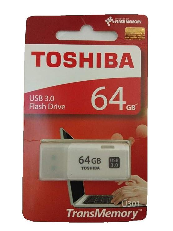 Toshiba Hayabusa 64GB USB 3.0 Pendrive (White) Pen Drives at amazon