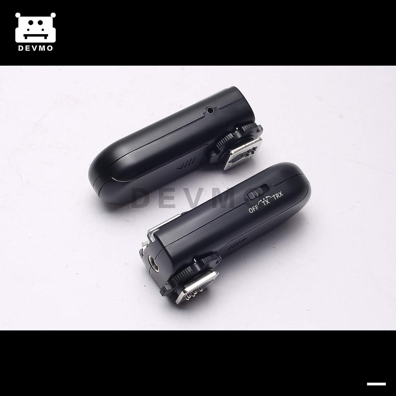 DEVMO Upgrade RF-603 II N3 2.4GHz Wireless Flash Trigger//Wireless Shutter Release Transceiver Kit Compatible with Nikon D90 D600 D7100 D7000 D5100 D5000 D3100 D3000