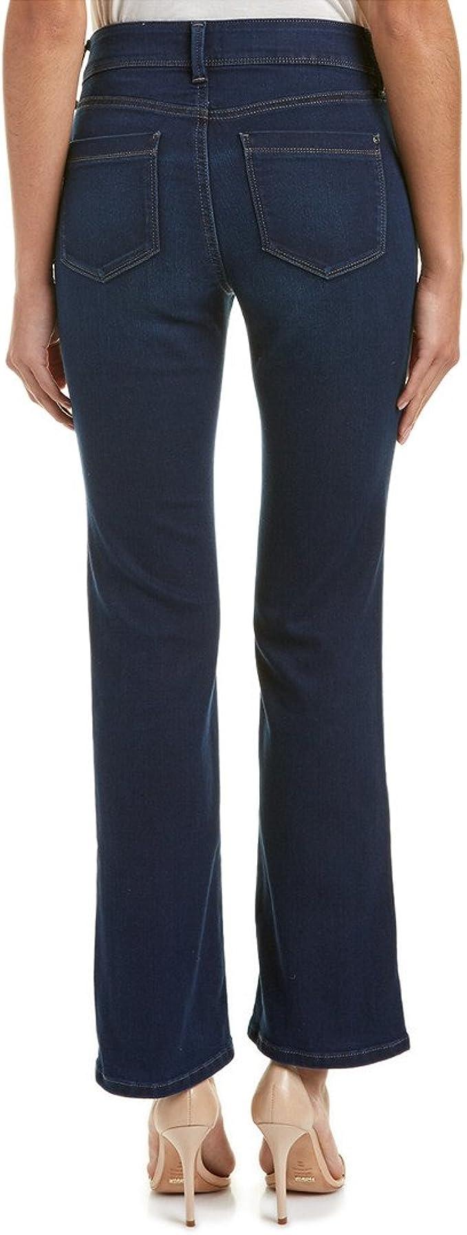 NYDJ Womens Petite Barbara Jeans Bootcut Pants
