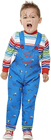 Smiffys 61027T1 - Disfraz de Chucky con licencia oficial, para niños ...