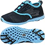 ALEADER Kid's Quick Dry Water Shoes Comfort Walking Sneakers Blue/LtBlue 9 M US Todder