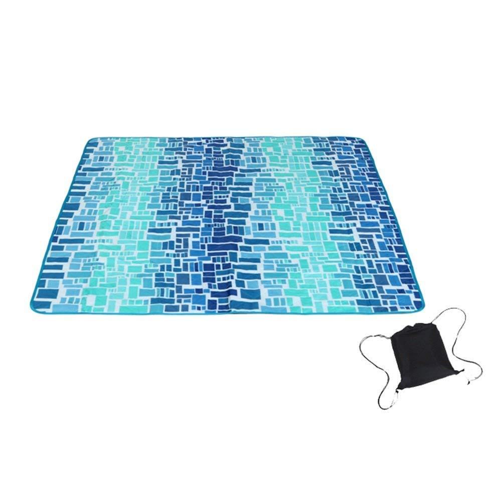 AXCJ Lavabile in Lavatrice Stuoia da Picnic Coperta Tappeto Stuoia Resistente all'umidità Portatile Pieghevole Addensare Poliestere taffetà Oxford Cloth 120 & Times; 150 & Times; 0.37Cm,Stile 4