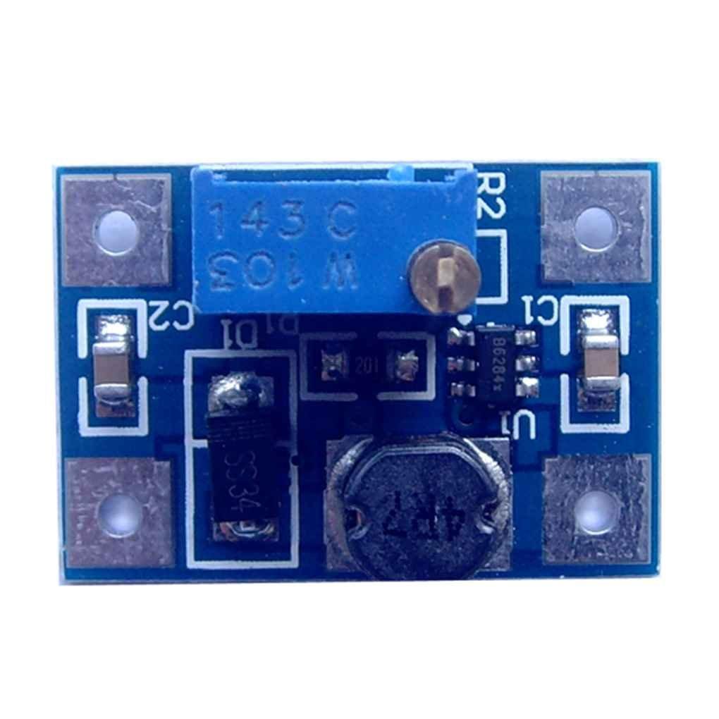 Busirde Aumento della tensione 2A Corrente modulo DC-DC modulo di alimentazione del convertitore regolabile Regolatore Step Up surriscaldamento Protezione