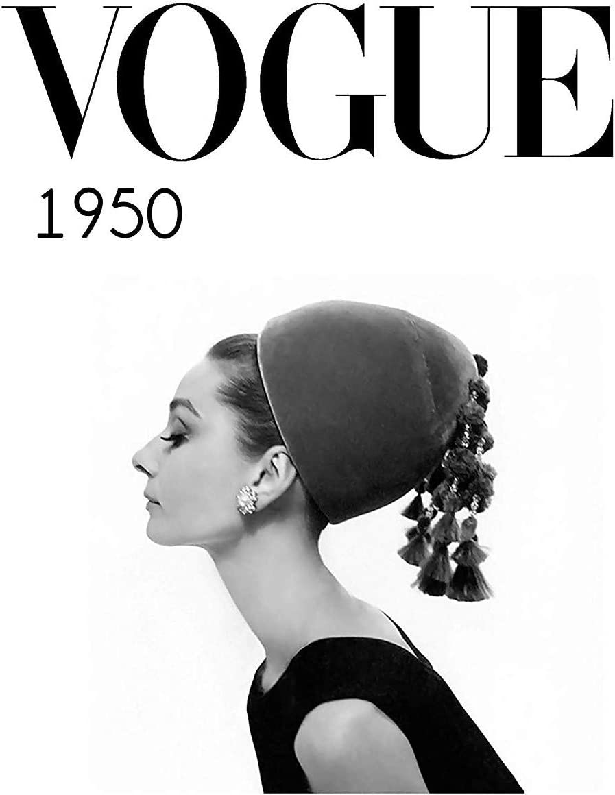 Póster de Eliteprint Vogue 1950 Classic Vintage Retro Fashion en ...