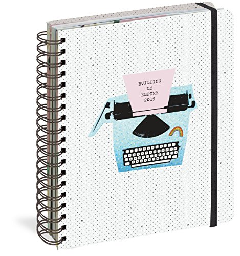 Building My Empire 17-Month Large Planner 2019 (Pipsticks+Workman) by Workman Publishing