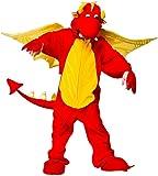 Fire Breathing Dragon Kids Animal Fancy Dress Costume Boys & Girls Onesie 4 Sizes