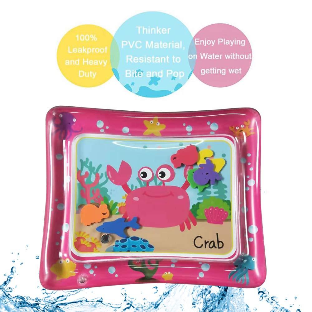 cA0boluoC - Esterilla Hinchable para bebés, Cangrejo, bebé, Centro ...