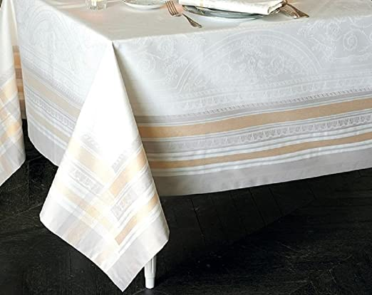 Garnier-Thiebaut – Mantel Antimanchas, algodón, Vermeil, 172 x 302 ...