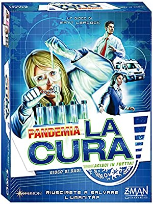 Asterion 8384 - Pandemia: The Cure, Italiano Edición: Amazon.es: Juguetes y juegos