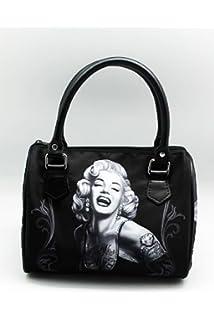DGA Angels Day of the Dead Marilyn Monroe Smile Now Bomshells Handbag Purse b454fe3bec