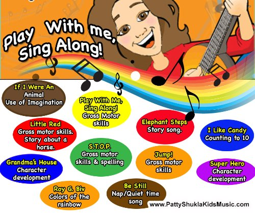 Play with Me, Sing Along! (Audio CD)