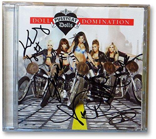 Pussycat Dolls Signed CD Nicole Scherzinger Thornton Sutta Roberts Wyatt 862996