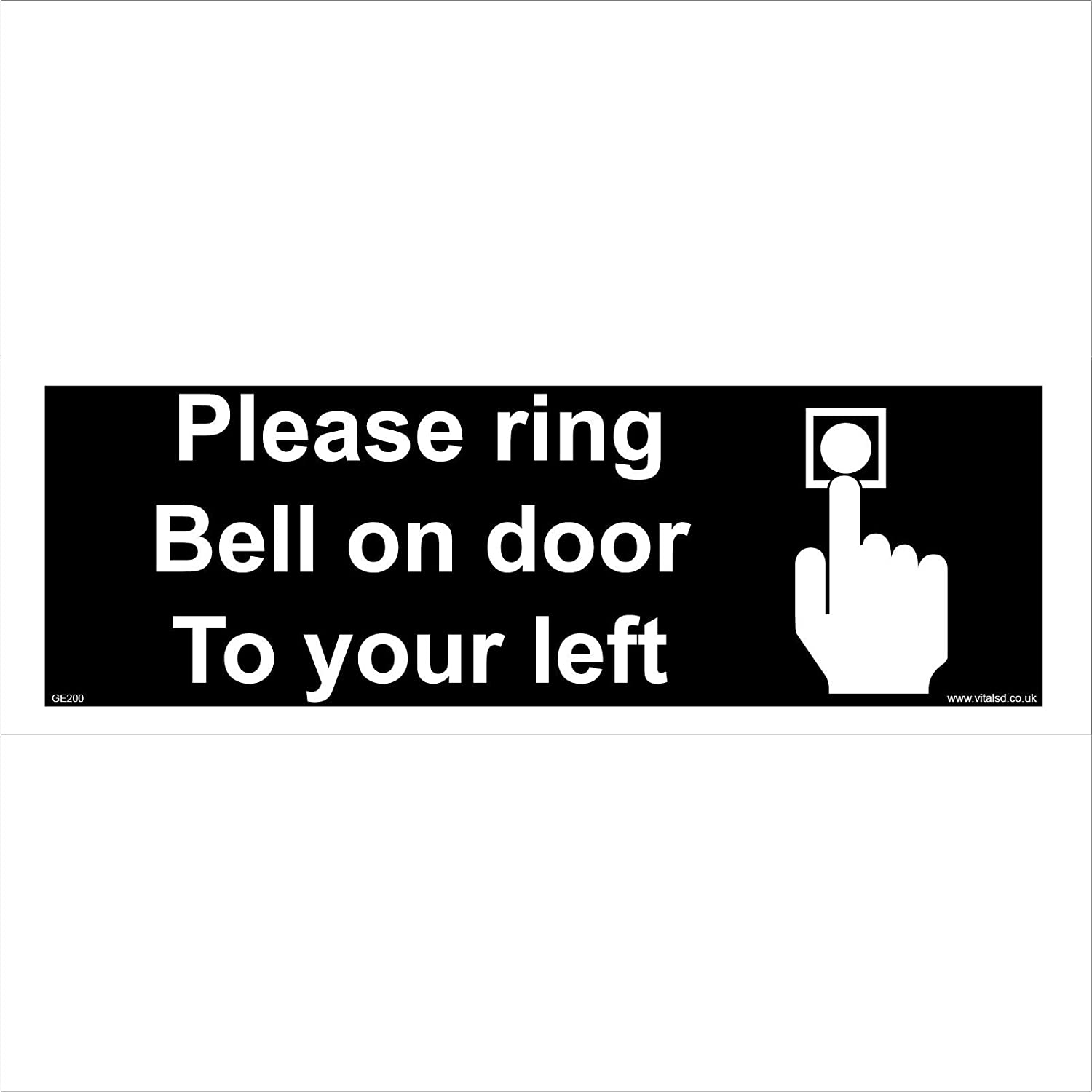 HOME OR OFFICE VITAL SIGNS Ring Bell Knock No Junk Mail Close Door No Shoes